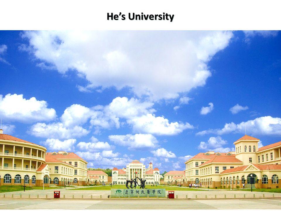13 He's University