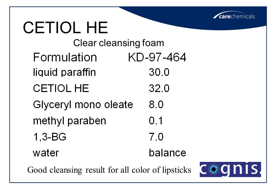 CETIOL HE/HE810