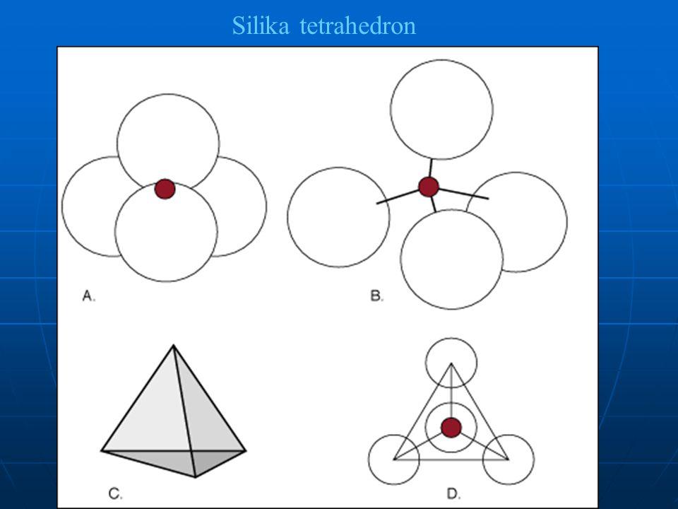 tetrahedron Silika tetrahedron