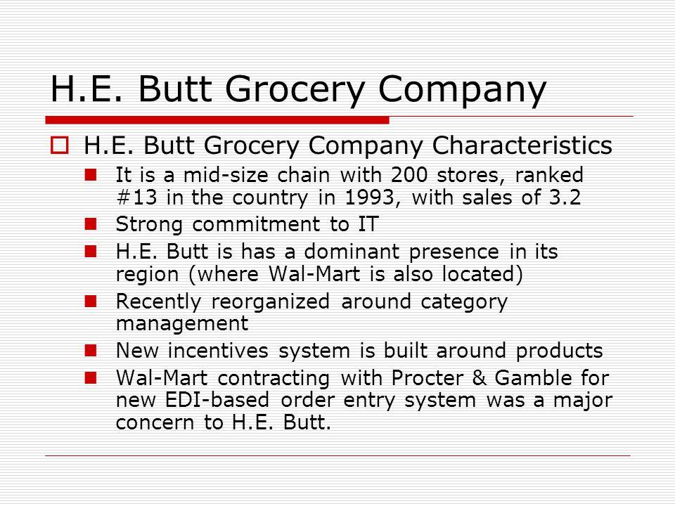 H.E.Butt Grocery Company  H.E.