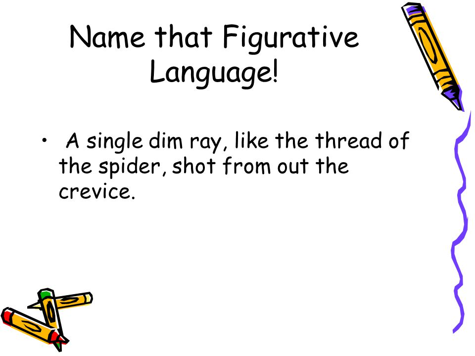 Name that Figurative Language.