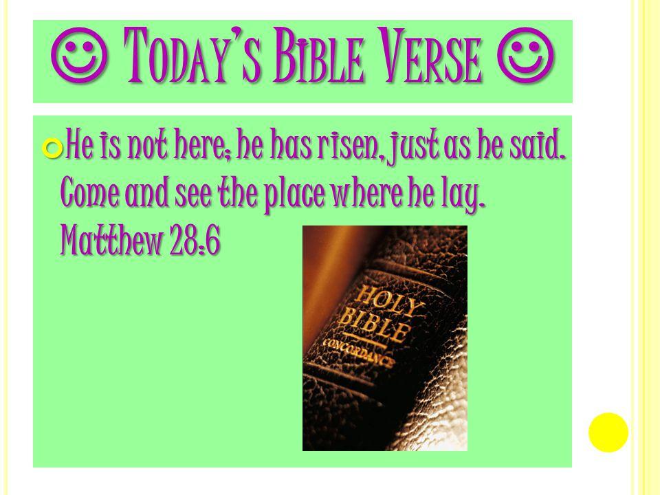 R ESURRECTION E VENTS Jesus' Purpose