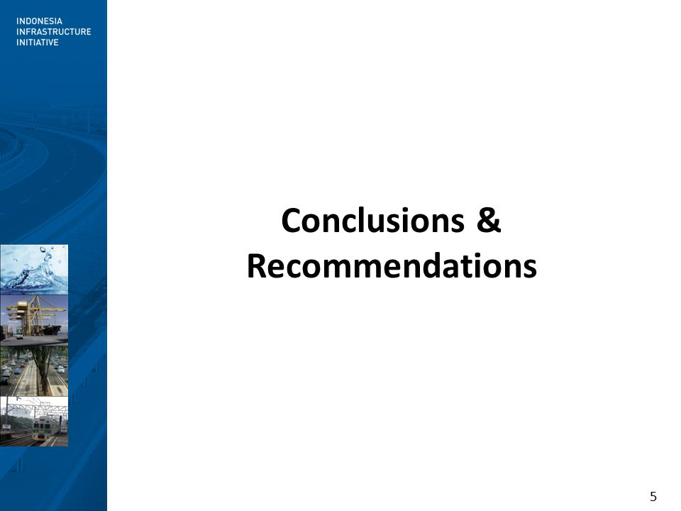 5 Conclusions & Recommendations