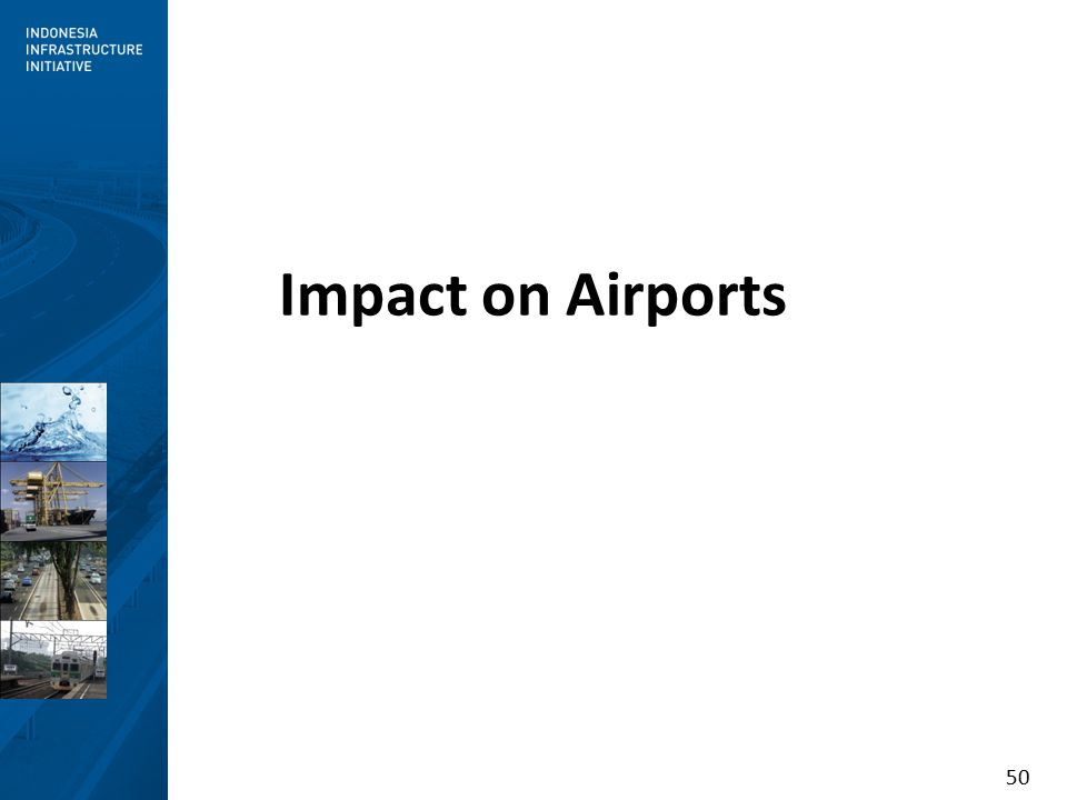 50 Impact on Airports