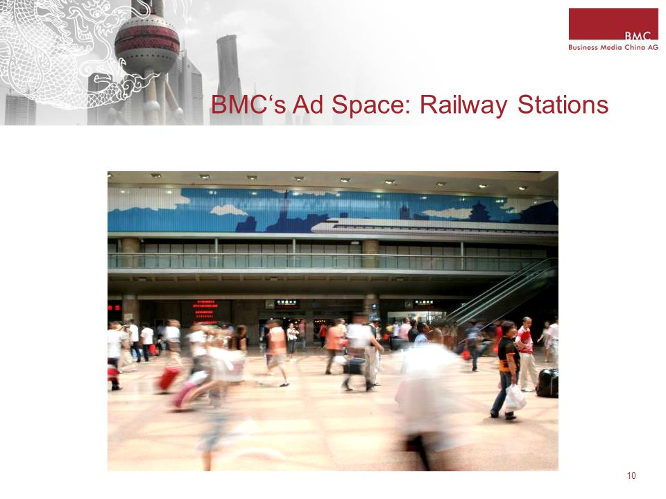 10 BMC's Ad Space: Railway Stations