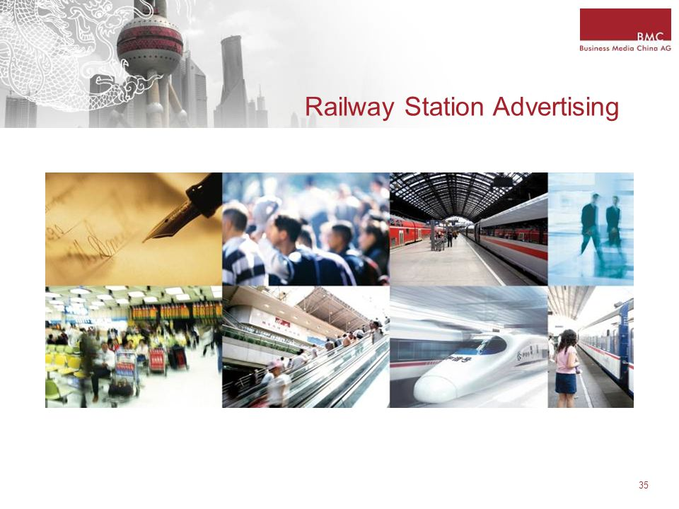 35 Railway Station Advertising