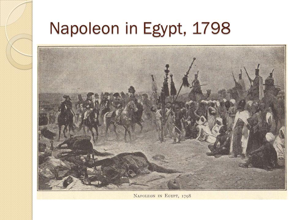 Napoleon in Egypt, 1798