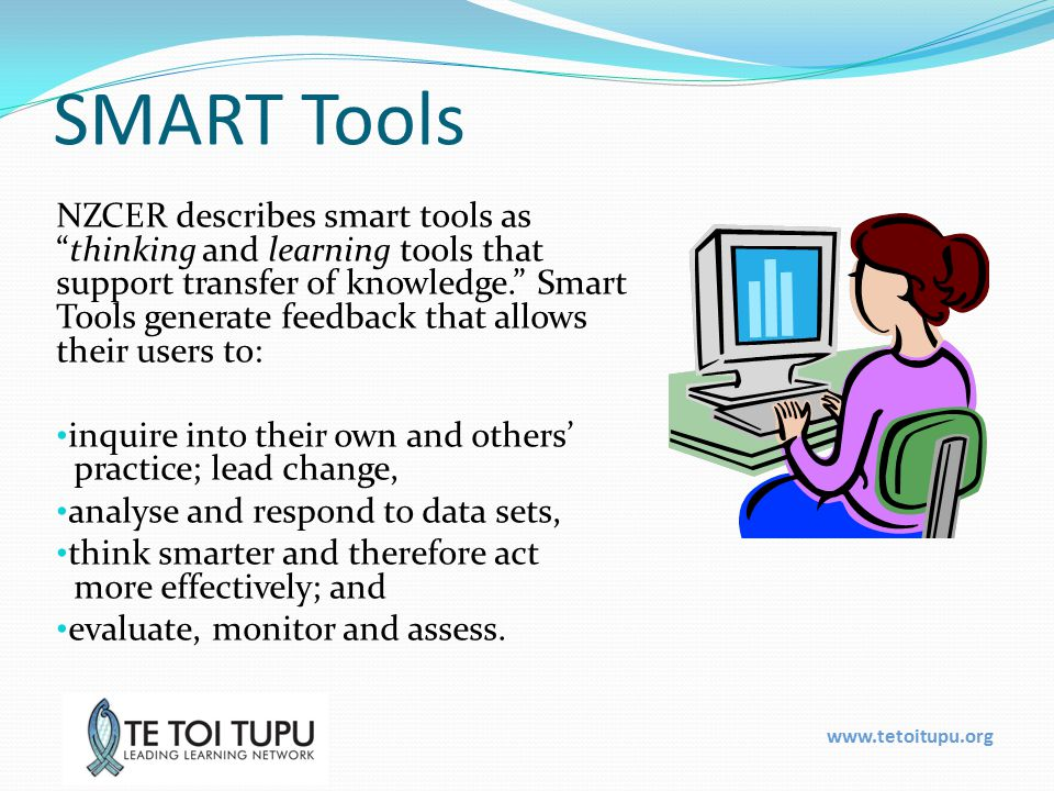 www.tetoitupu.org Facilitator SMART tool & He Kohinga Whakaaro FaST: Facilitator SMART tool General Facilitation Skills SMART tool Assists facilitators in any school setting to reflect on their: Facilitation knowledge Facilitation practice Beliefs about facilitation Facilitation related PLD needs He Kohinga Whakaaro Kaupapa Māori SMART tool Assists facilitators in Māori medium settings to reflect in depth on their facilitation knowledge, skills, beliefs and PLD needs related to: Te reo Māori, culture and identity relationships & communication content knowledge pedagogical content knowledge