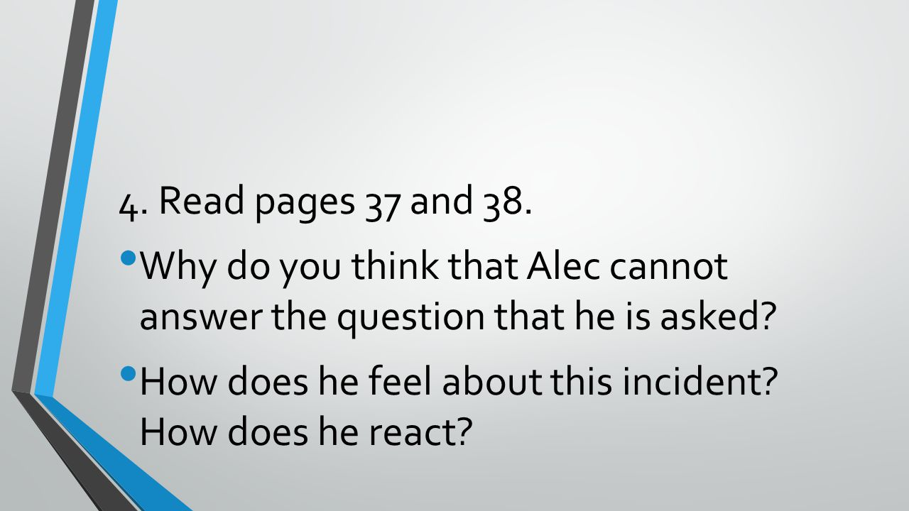 2.What is Ian's attitude about Alec attending private school.