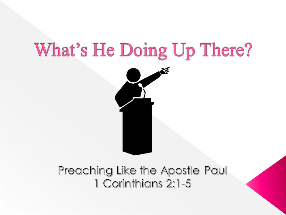  The pulpit has an unparalleled opportunity to reach the minds of men today (approx.