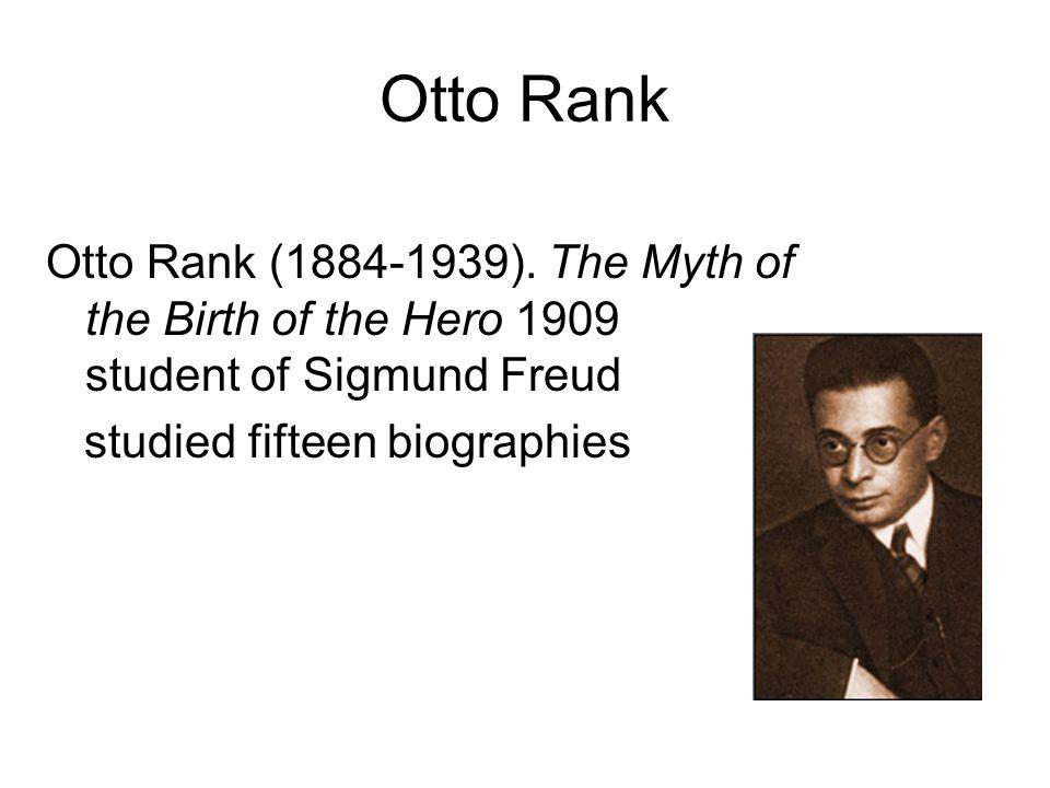 Otto Rank Otto Rank (1884-1939).
