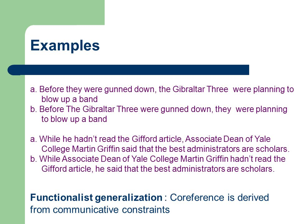 a. Before they were gunned down, the Gibraltar Three were planning to blow up a band b. Before The Gibraltar Three were gunned down, they were plannin