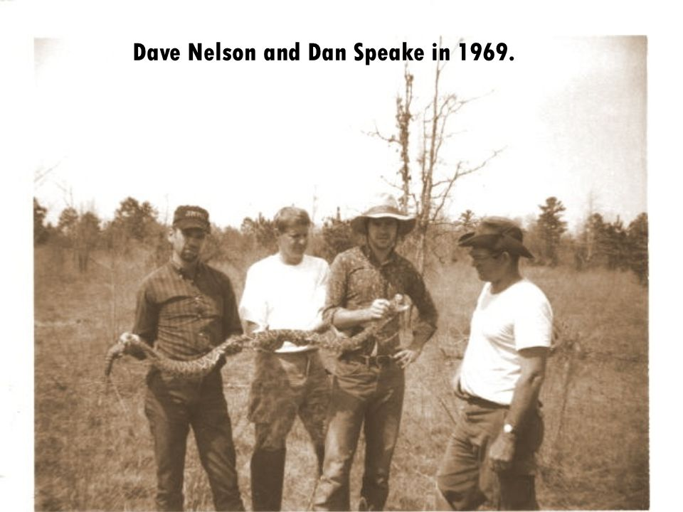 Dave Nelson and Dan Speake in 1969.