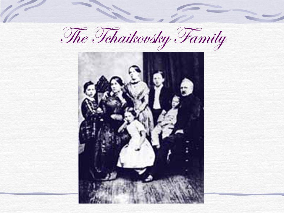 The Tchaikovsky Family Tree