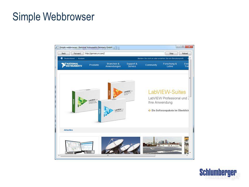 Simple Webbrowser