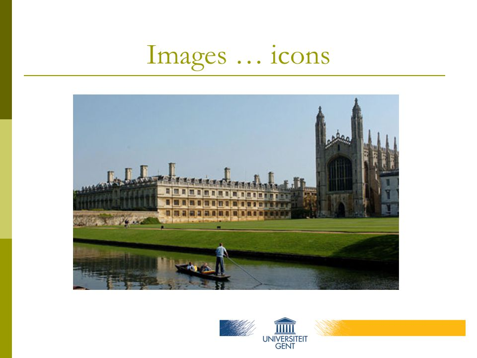 Images … icons