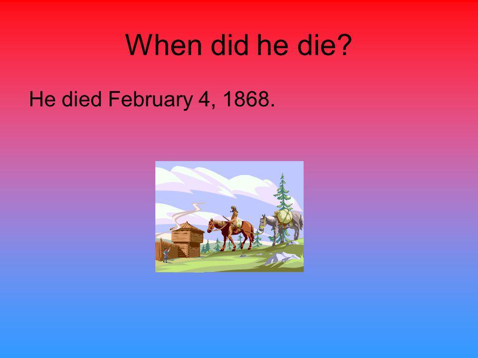 When and where was Joseph Brown born? Joseph Brown was born in North Carolina in 1772.