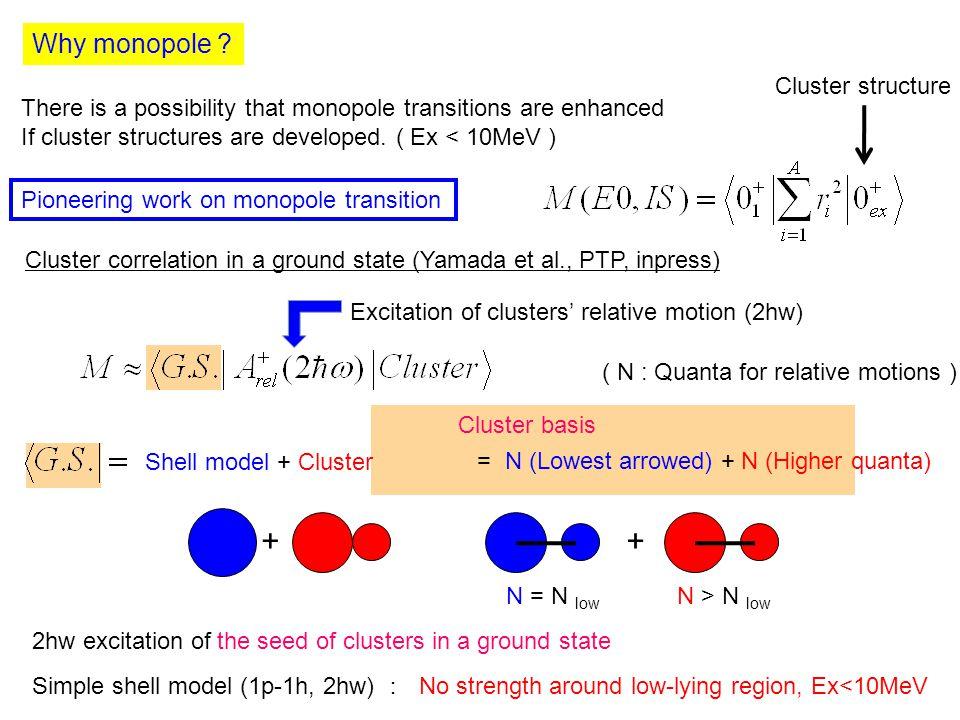 Why monopole .