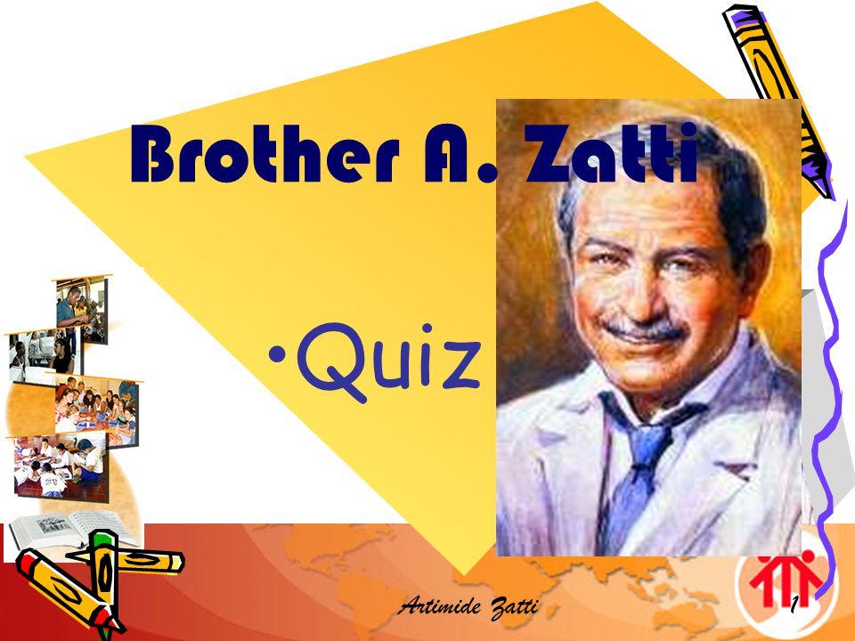 Artimide Zatti 32 Brother Zatti attended the canonization of Don in Rome on 1st April 1934 True or False.
