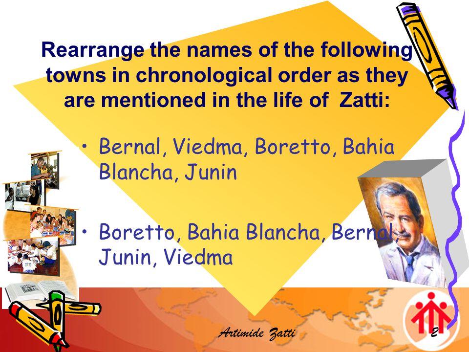 Artimide Zatti3 Pick and Choose