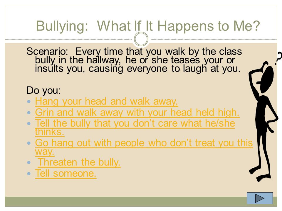 Questions for Thought Do the story and video show bullying.
