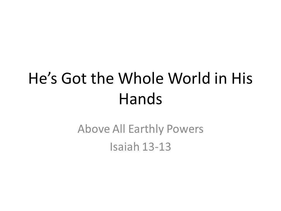 Isaiah 21:13-17 Arabia Again, no help from any human source