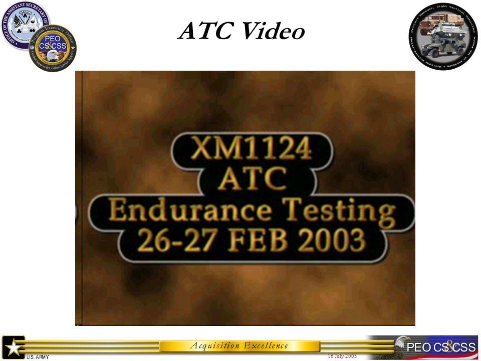 16 July 2003 ATC Video