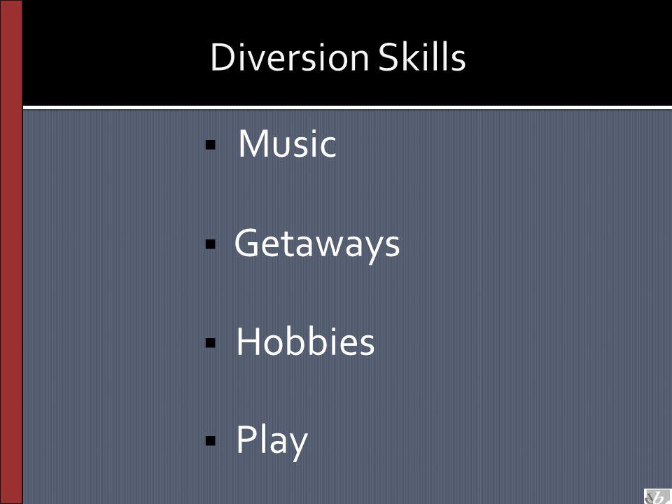  Music  Getaways  Hobbies  Play