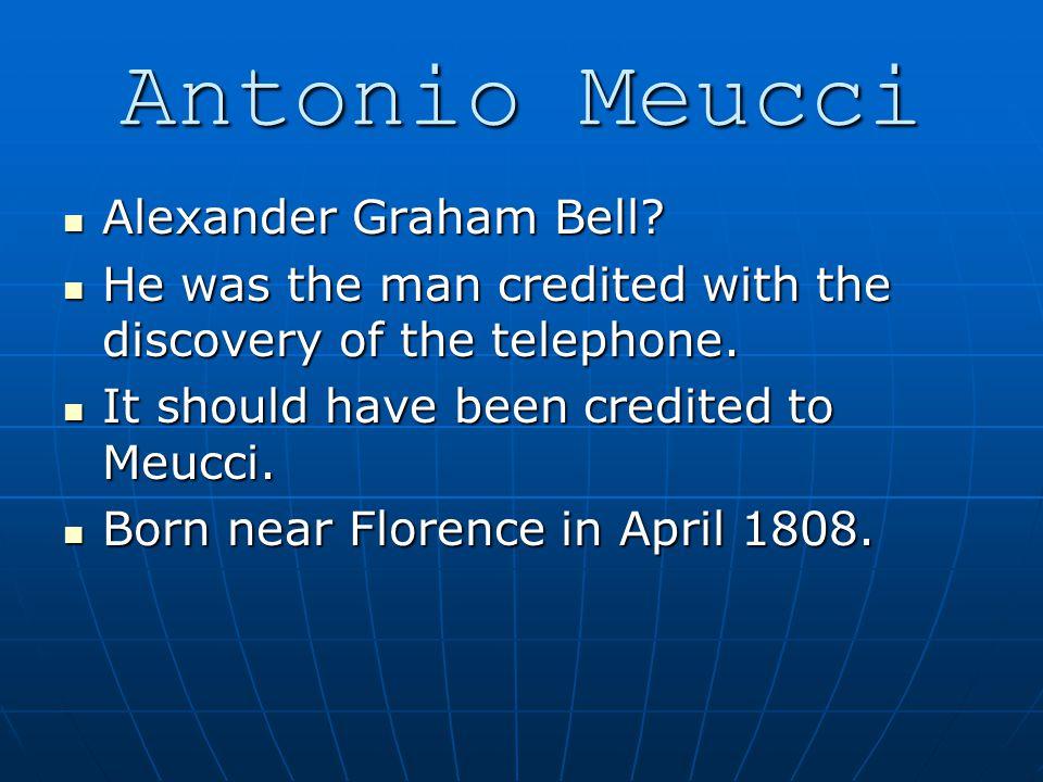 Alexander Graham Bell. Alexander Graham Bell.