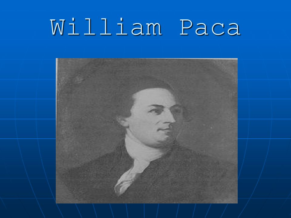 William Paca