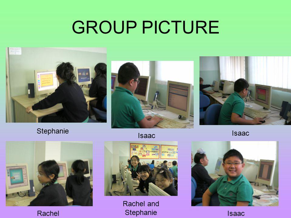 GROUP PICTURE Stephanie Isaac Rachel Rachel and Stephanie