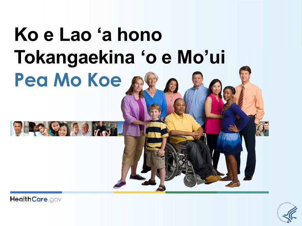 Ko e Lao 'a hono Tokangaekina 'o e Mo'ui Pea Mo Koe