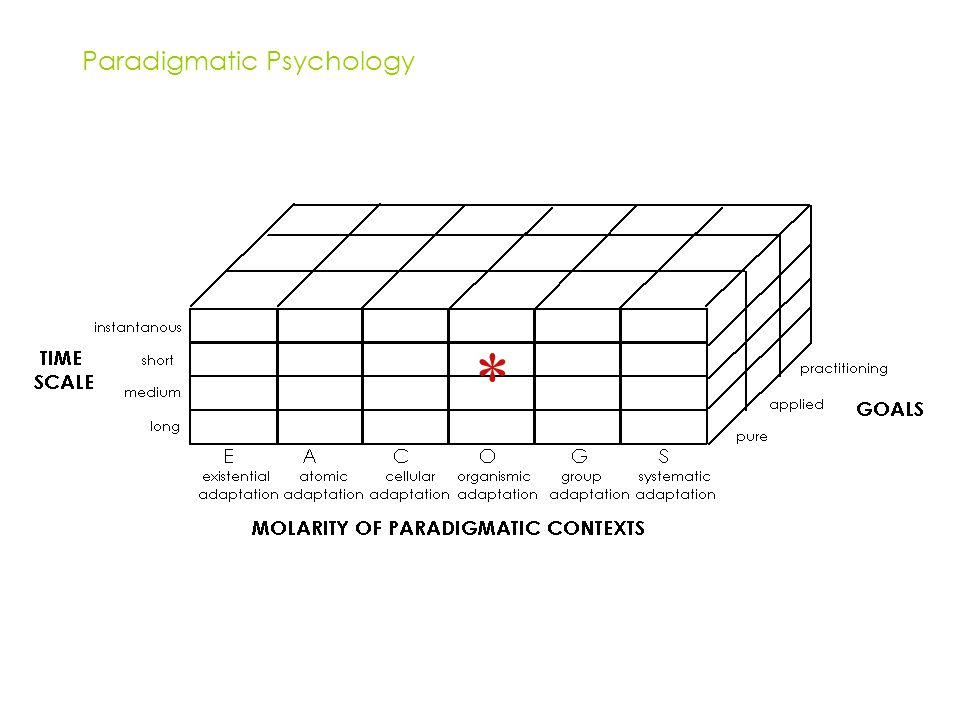 Paradigmatic Psychology *