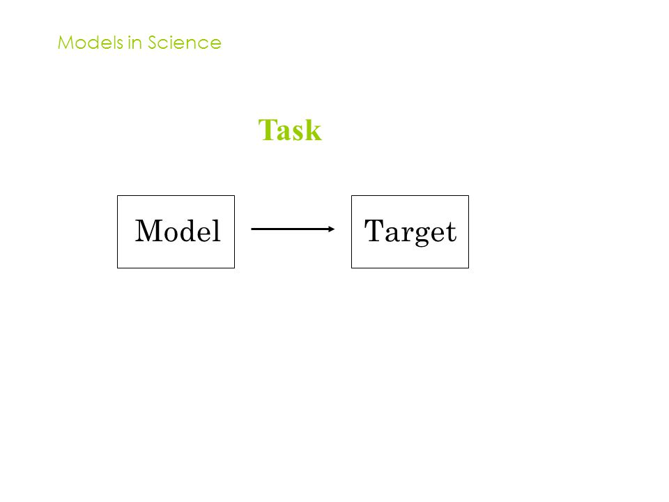 Models in Science Task ModelTarget