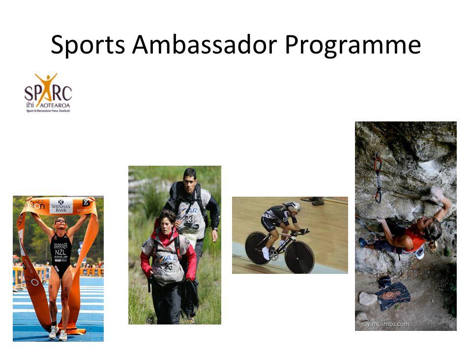 Sports Ambassador Programme