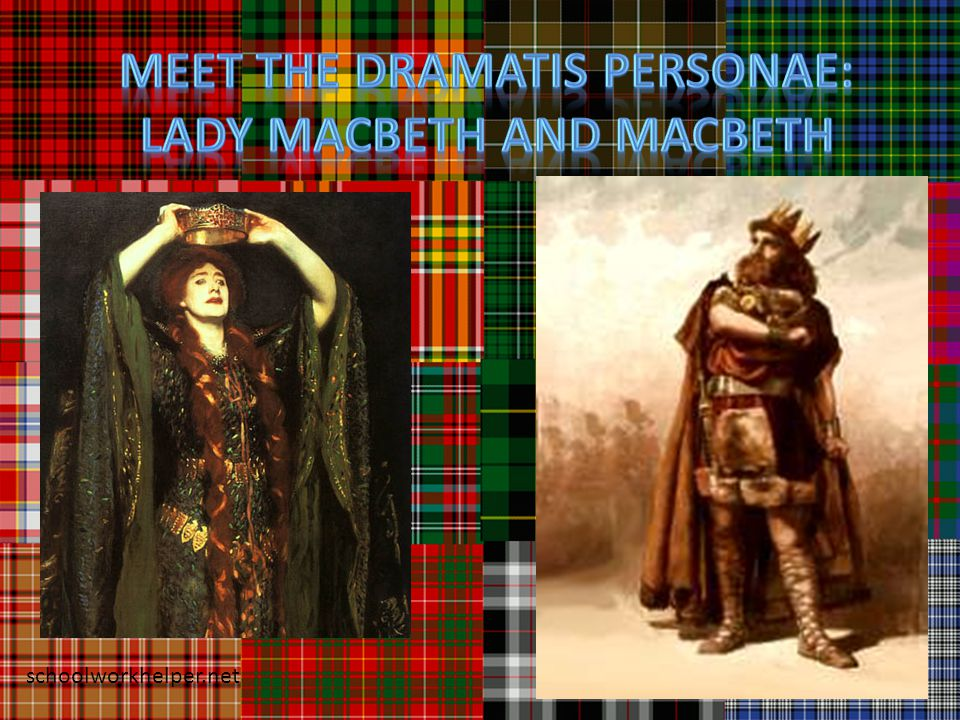 Man vs.Man Macbeth struggles against Banquo and Macduff and Malcolm for control of Scotland.
