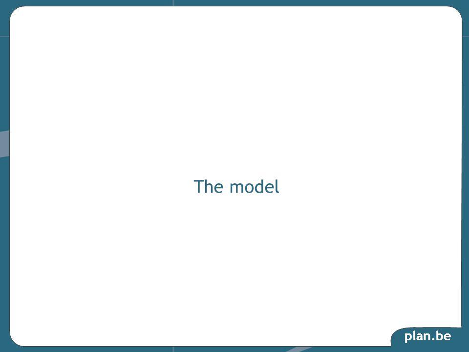 plan.be « En économie, un modèle est une représentation simplifiée de la réalité économique ou d une partie de celle-ci.