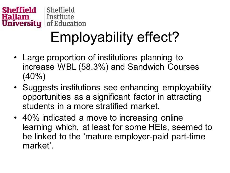 Employability effect.