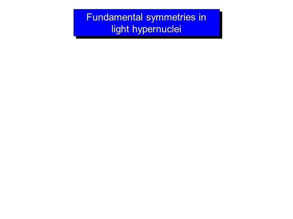 Fundamental symmetries in light hypernuclei