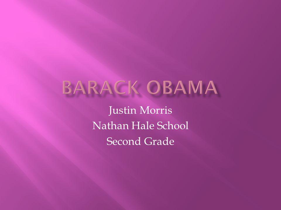 Justin Morris Nathan Hale School Second Grade