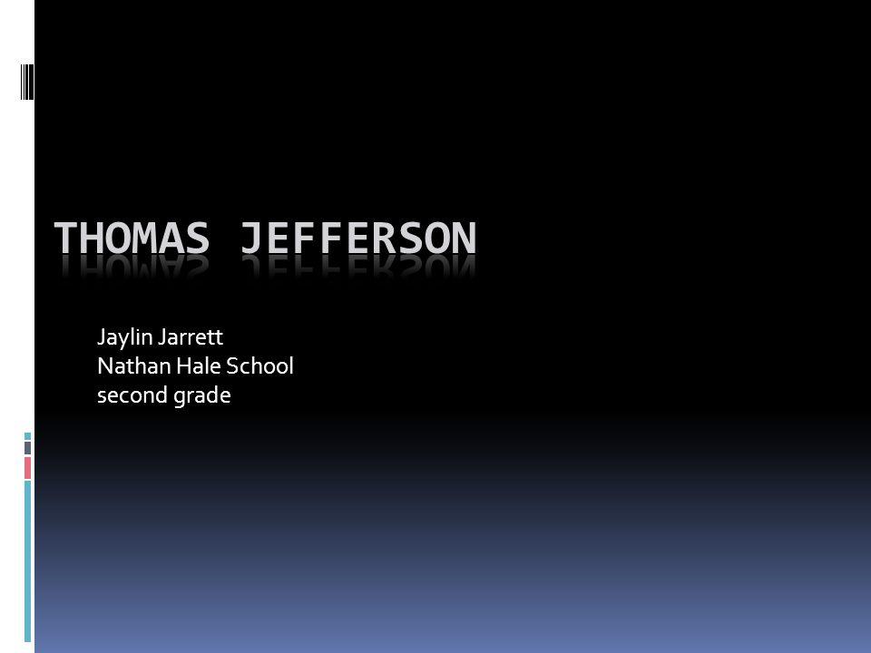 Jaylin Jarrett Nathan Hale School second grade