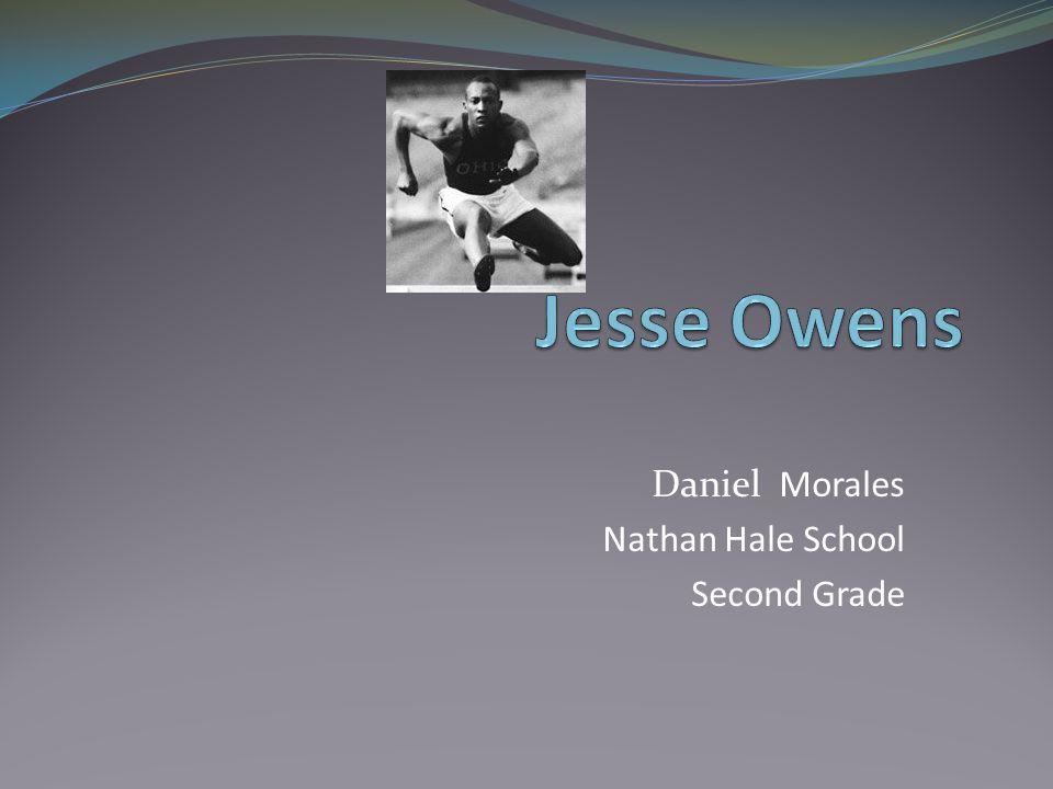 Daniel Morales Nathan Hale School Second Grade