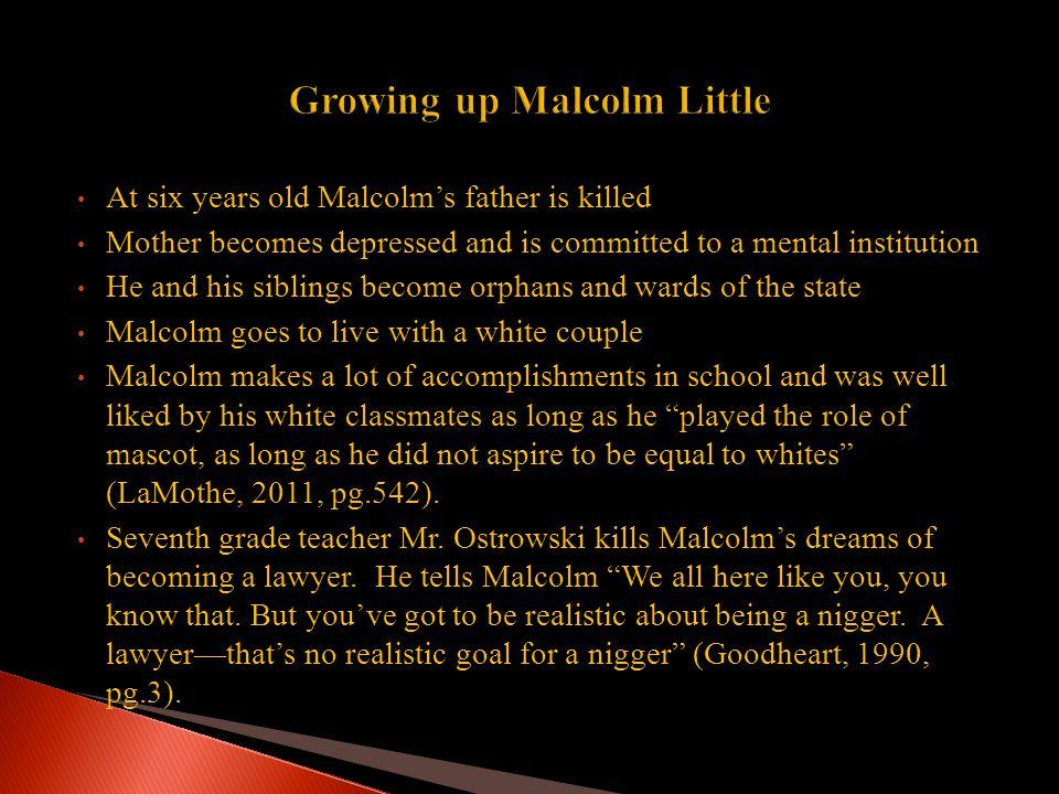 Malcolm X aka El-Hajj-Malik El- Shabazz left behind (Wife) Betty Shabazz (Six daughters) Attallah, Qubilah, Iiyasah,Gamilah, (twins) Malikah and Malaak http://www.univ-ag-uni-kl-de/