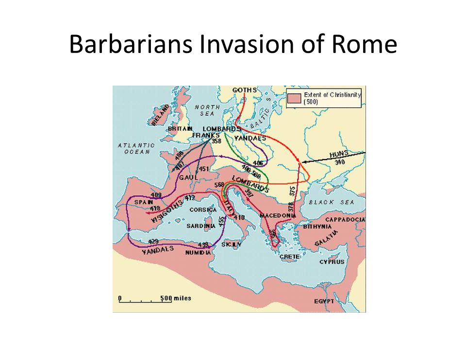 Barbarians Invasion of Rome