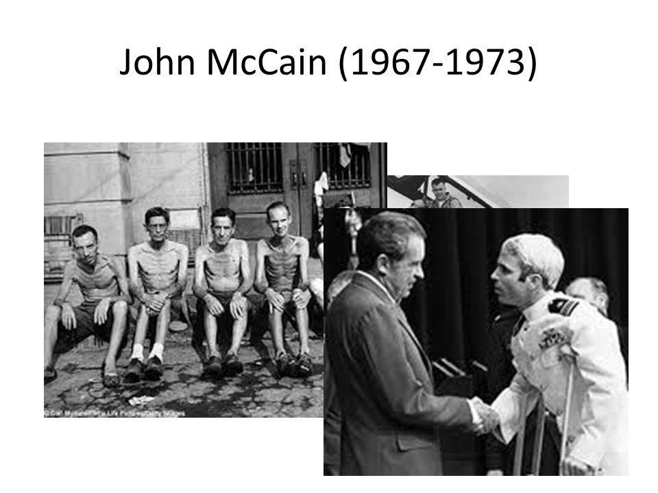 John McCain (1967-1973)