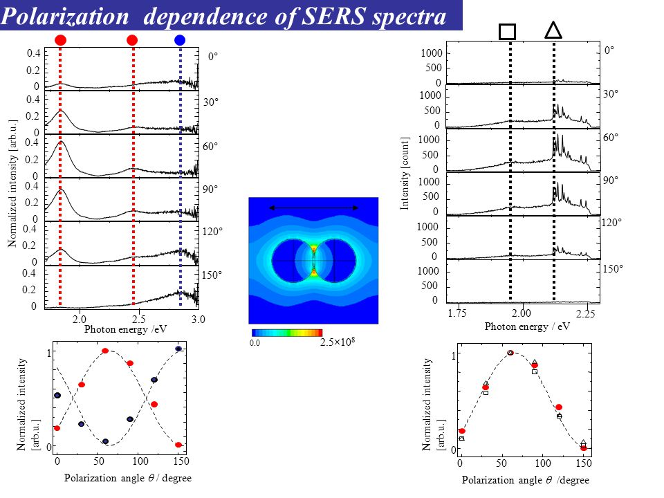 SERS enhancement factor: M 1st enhancement 2nd enhancement Adsorbed molecule Ag nanoaggregate ħ (  I -   ħIħI Inoue and Ohtaka.