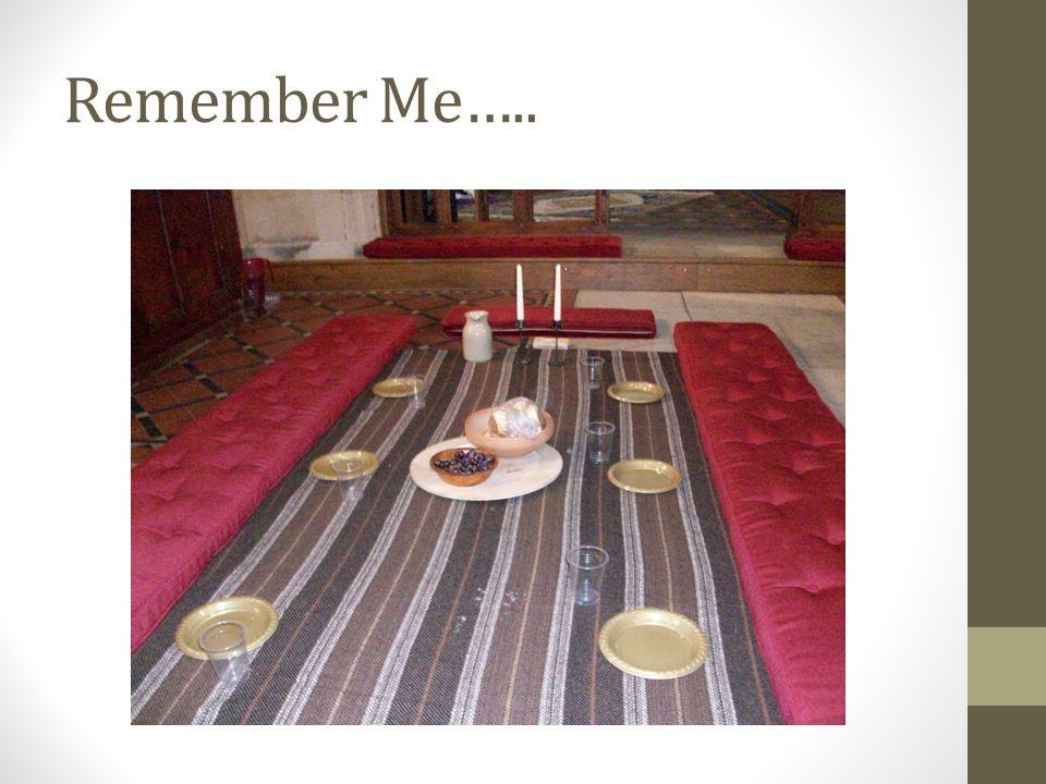 Remember Me…..