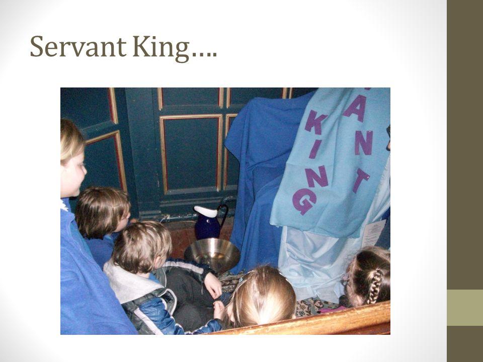 Servant King….