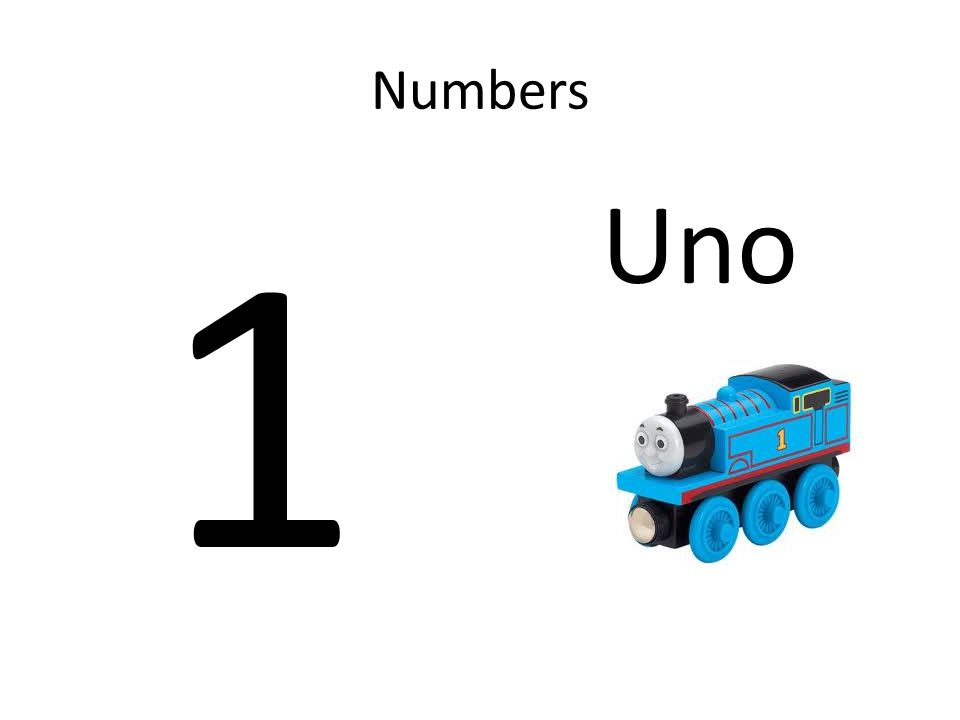 Numbers 1 Uno