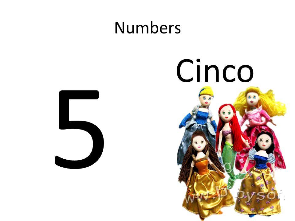 Numbers 80 Ochenta